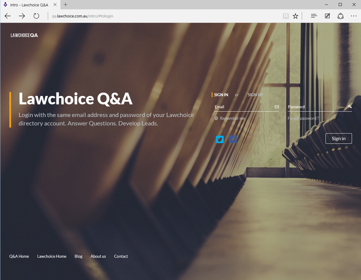 Introducing Lawchoice Q&A - a new way to develop leads